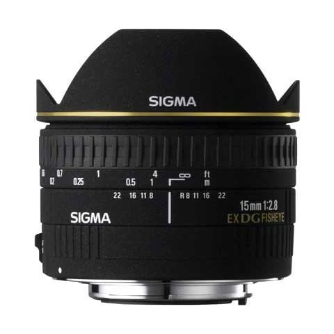 Sigma 15mm f/2.8 EX DG Diagonal Fisheye Lens - Canon Fit - FREE UK DELIVERY