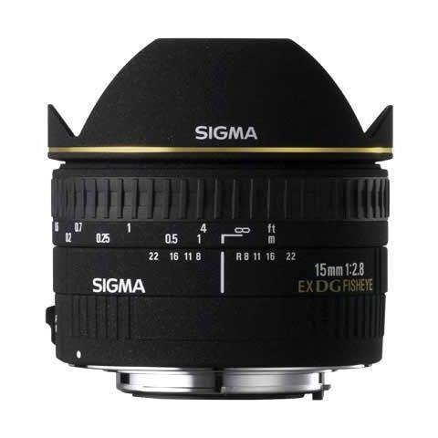Sigma 15mm f/2.8 EX DG Diagonal Fisheye Lens - Nikon Fit - FREE UK DELIVERY