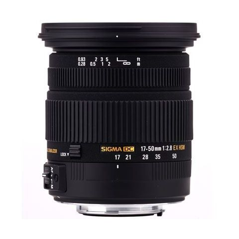 Sigma 17-50mm f2.8 EX DC OS HSM - Canon Fit - FREE UK DELIVERY