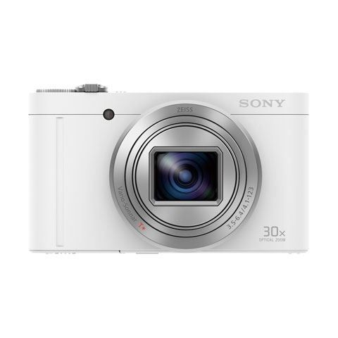 Sony DSC-WX500 Compact Digital Camera White - FREE UK DELIVERY