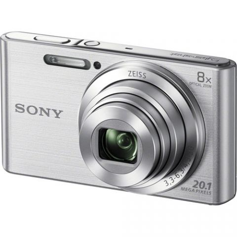 Sony DSC-W800 Digital Camera - Silver