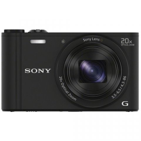 Sony DSC-WX350 Compact Digital Camera Black - FREE UK DELIVERY