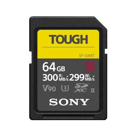 Sony 64GB SF-G Tough Series UHS-II SDXC Memory Card - FREE UK DELIVERY