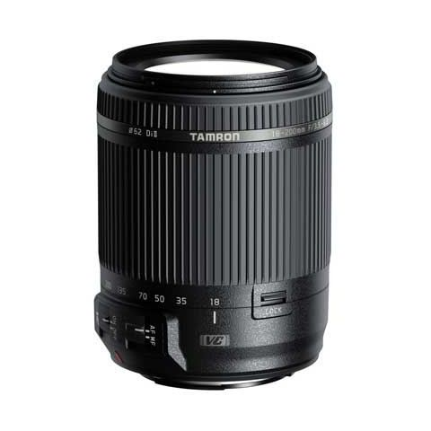 Tamron 18-200mm F3.5-6.3 Di II VC Lens Canon Fit - FREE UK DELIVERY