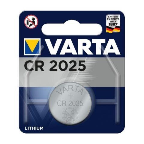 Varta CR2025 Lithium Coin Cell Battery
